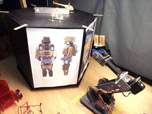 display-robot